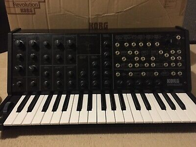 Korg Ms20 Mini Semi Modular Synth - Mint Condition; Boxed With Cable/manual • 380£