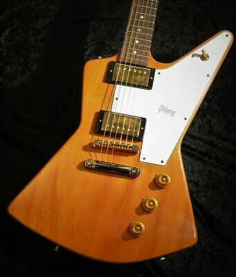 Gibson Custom Shop 1958 Explorer Elbow Cut Vos Heavy Antique Natural From Japan • 5,528.07£