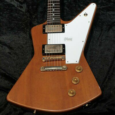 Gibson Custom Shop 1958 Explorer Mahogany Elbow Cut Heavy Antique Natural • 5,754.50£