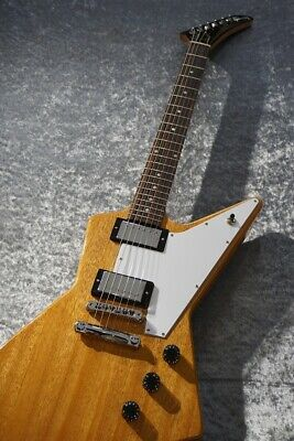 Gibson Explorer 230300256 Antique Natural Perfect Packing From Japan • 1,871.28£