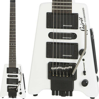 Steinberger Spirit GT-Pro Deluxe WH Headless Electric Guitar From Japan • 577.34£