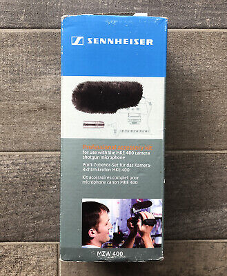Sennheiser MZW400 WIndscreen And Adapter Professional Accessories Kit For MKE400 • 25.34£