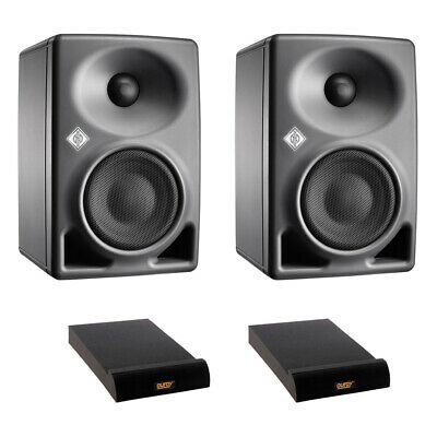 Neumann KH 80 DSP 4  2-Way Studio Monitor (Pair) W/ (2) Isolation Pad • 708.90£