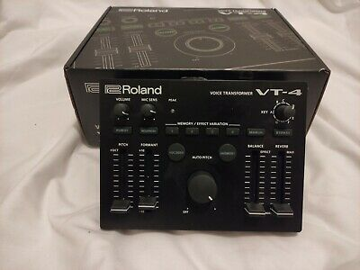 Roland VT-4 Vocal Transformer Vocal Voice Effects Unit • 180£