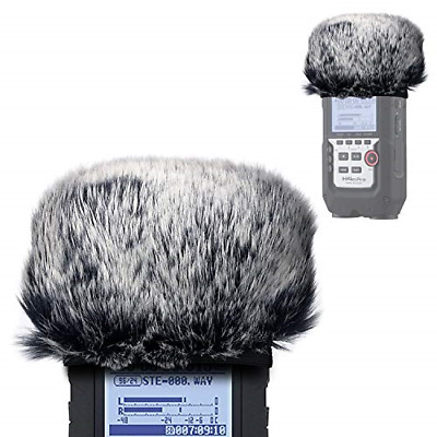 Furry Outdoor Microphone Windscreen Muff For Zoom H4N Pro Portable Digital Zoom • 17.90£