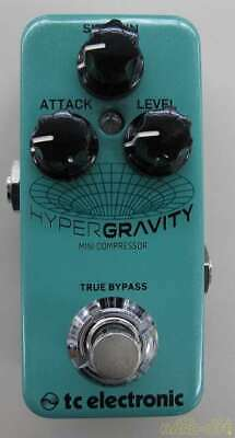 TC ELECTRONIC HYPER GRAVITY MINI COMPERESSOR 22662957 Effects Pedal From Japan • 159.78£