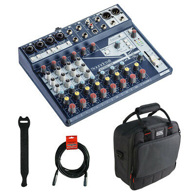 Soundcraft Notepad-12FX Analog Mixing Console W/ Mixer Bag, Straps & Cable • 141.15£