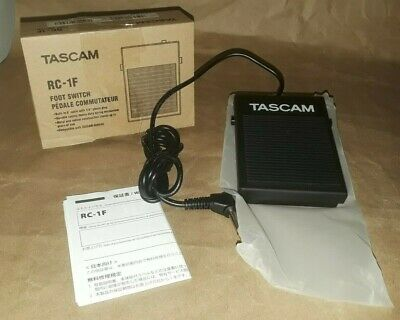 Tascam RC-1F Foot Switch (RC1F) • 28.27£