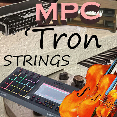Mellotron Strings Expansion Pack For Akai MPC Live Force Touch (90 Instruments) • 7.08£