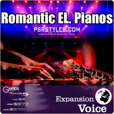 Electro EL.Pianos Expansion Pack For YAMAHA Genos Tyros 5 PSR SX-900 S-975 S-970 • 18.08£