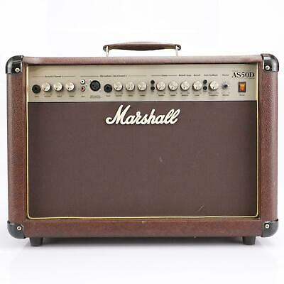 Marshall AS50D 2x8  2 Channel Solid State Acoustic Combo Amp Needs Repair #42905 • 132.74£