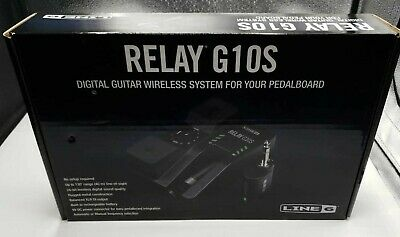 Line 6 Relay G10S Digital Guitar Wireless System W/ Rechargeable Transmitter NEW • 170.69£