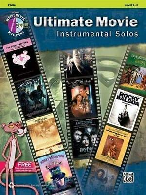 Ultimate Movie Instrumental Solos: Flute, Book & CD By Alfred Publishing... • 15.08£