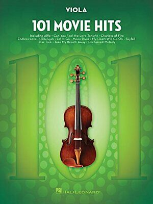 101 MOVIE HITS FOR VIOLA By Hal Leonard Corp. • 17.72£