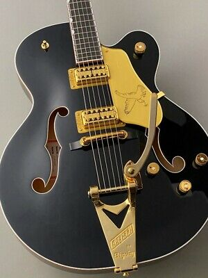 Gretsch G6136T-BLK Players Edition Falcon JT19125034 Hollow Body W/H/C From JP • 4,142.29£