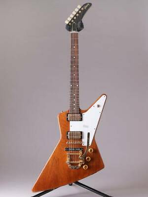 GIBSON CS HC 1958 Explorer VOS W/B-5 Bigsby Antique Natural 8 9583 • 5,957.17£