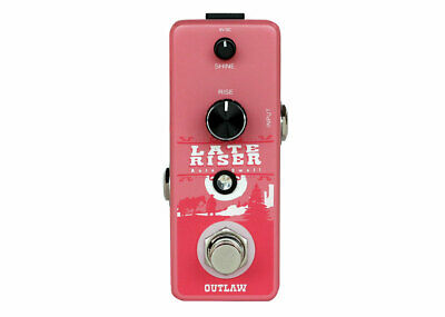 Outlaw Effects Late Riser Auto Volume Swell Pedal - FREE 2 DAY SHIP • 45.29£