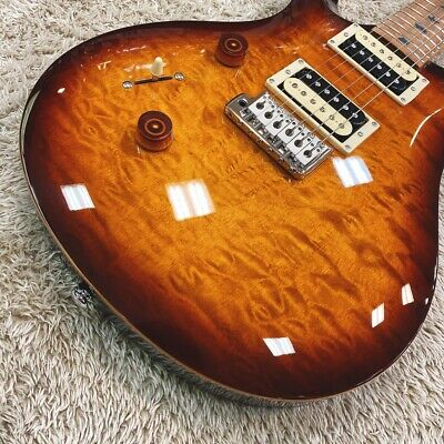 PAUL REED SMITH SE Custom 24 Roasted Maple L TS Tabacco Sunburst Lefty • 1,059.43£