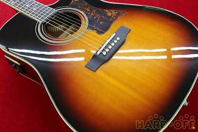 EPIPHONE DR-500MCE VS 13122316386 Acoustic Electric Guitar Ships Safely From JP • 765.44£