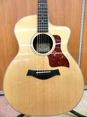 TAYLOR 214CE-CF DLX 2111028592 Acoustic Electric Guitar Ships Safely From Japan • 1,609.06£