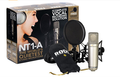Rode NT1-A Complete Vocal Recording Solution  • 136.74£