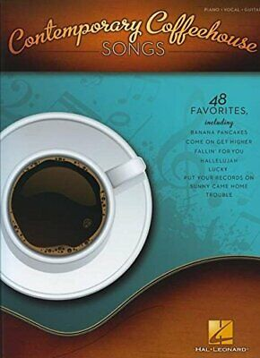 CONTEMPORARY COFFEEHOUSE SONGS By Hal Leonard Corp. • 7.77£