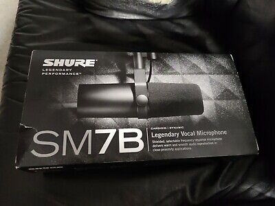 Shure SM7B Cardioid Dynamic Vocal Microphone • 280.89£