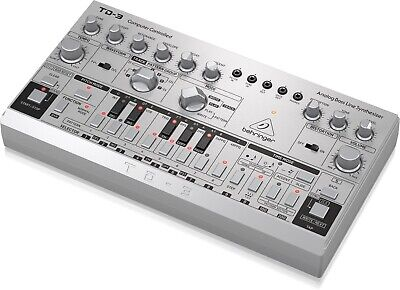 Behringer TD-3-SR Analog Bass Line Synthesizer Synth W/ 16-Step Black Ready 2 Go • 176.35£