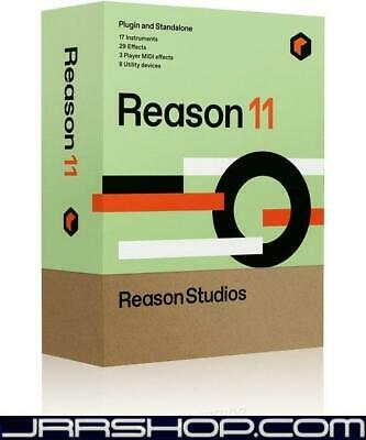Reason Studios Reason 11 Upgrade - Upgrade to Reason 12 included eDelivery JRR S
