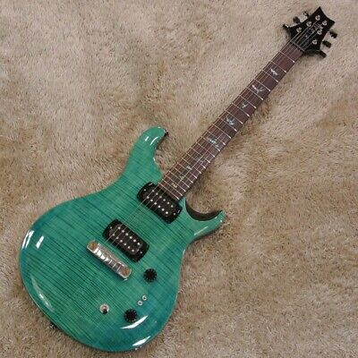 PAUL REED SMITH SE Paul's Guitar Aqua With Soft Case Ships Safely From Japan • 1,161.44£