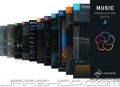 iZotope Music Production Suite 4 Crossgrade from any paid iZotope/Exponential Au