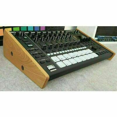 Synths & Wood Roland MC-707 Solid Oak Stand • 60£
