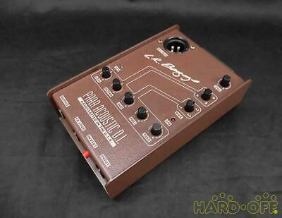 L.R.BAGGS Para Acoustic D.I. Preamp Effects Pedal Ships Safely From Japan • 209.58£
