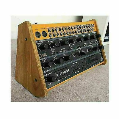 Synths & Wood Behringer Crave Solid Oak Dual Angle Stand • 45£