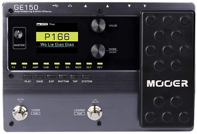 Mooer Ge150 Electric Guitar Amp Modelling Multi Effects Pedal • 153.04£