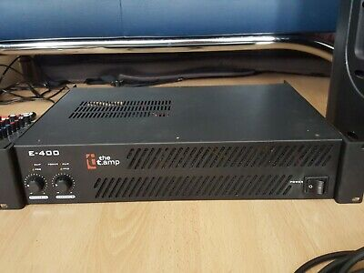 ThomannE-400 Stereo Power Amplifier (the T.amp), 200w Per Channel • 50£