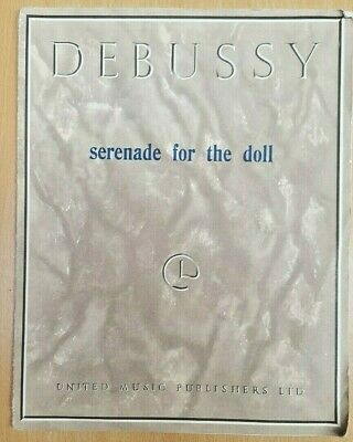 Debussy Serenade For The Doll Piano Solo Sheet Music