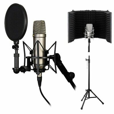 Rode NT1-A Complete Vocal Recording Solution With Filter And Tripod Kit • 253.21£