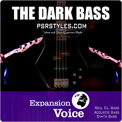 Real BASS SAMPLES Expansion Pack For YAMAHA Genos Tyros 5 PSR SX-900 S-975 S-970 • 43.21£
