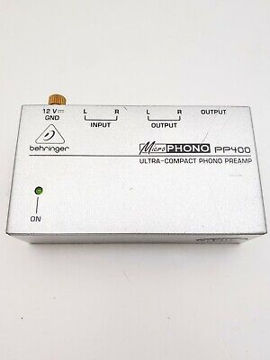 Behringer Microphono Phono Preamp PP400 - No Power Adapter