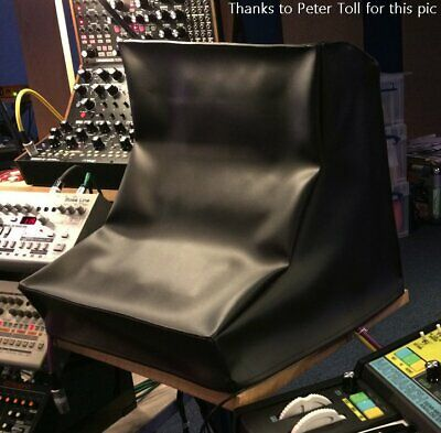Moog 2 or 3 Tier Rack Synth Dust Cover in black vinyl - for Mother 32, DFAM etc