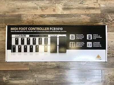 BEHRINGER FCB1010 MIDI Foot Controller Brand New Never Opened Rare Find