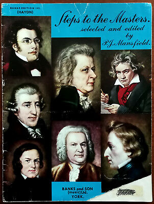 Haydn Banks Edition 142. Steps To The Masters, Banks & Son Music Book Pub. 1962
