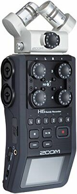 ZOOM linear PCM / IC handy recorder microphone exchange portable H6