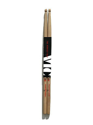 Vic Firth 5A Hickory American Classic Drum Sticks Pitch-Paired Weight Matched