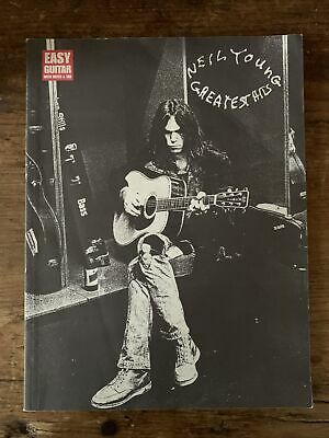 Neil Young Greatest Hits Easy Guitar Notes Tab Hal Leonard