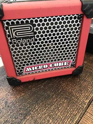 roland micro cube amp Collection Only M342jb Cash On Collection