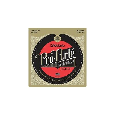 New D'Addario EJ45LP Pro Arte Classical Guitar Strings Lightly Polished Normal