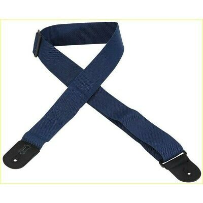 Levy's M8POLY-NAVY Shoulder Strap Bass Guitar Blue Navy