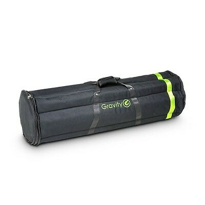 Gravity BGMS 6 B - Heavy Duty Padded Nylon Transport Bag for 6 Microphone Stands